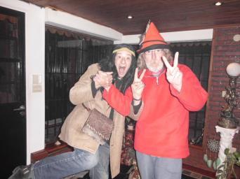 Jorge y su amigo Eduardo